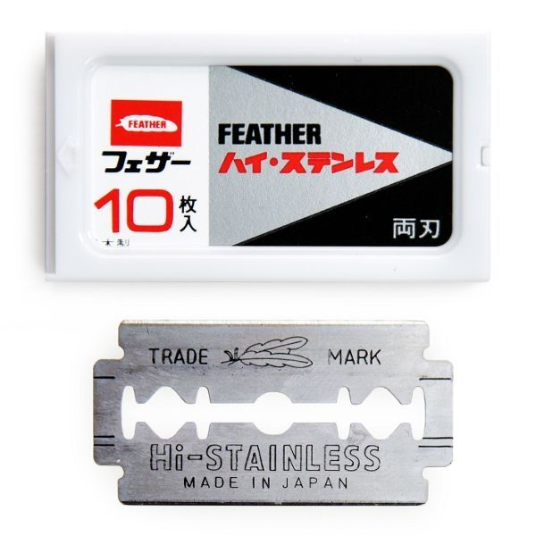 Feather: FH-10 Rasierklingen (Japan)