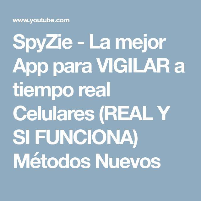 SpyZie - La mejor App para VIGILAR a tiempo real Celulares (REAL Y SI FUNCIONA) Métodos Nuevos