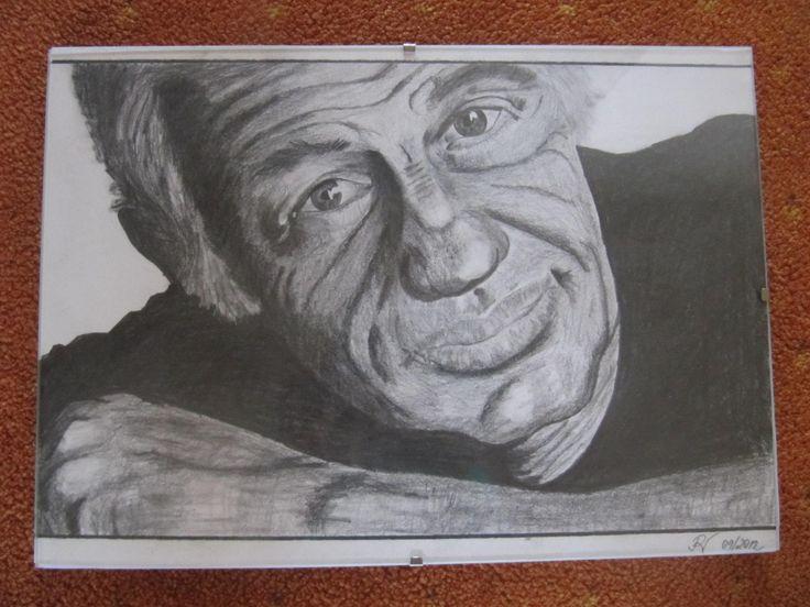 J.P.Belmondo - pencil
