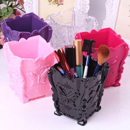 Ucuz 1 adet Retro akrilik makyaj kozmetik saklama kutusu durumda fırça kalem sahibi organizatör 5 renk, Satın Kalite kalem Tutucular doğrudan Çin Tedarikçilerden: 3 boyutu 10/15/24 bölmesi yuvası organizatör depolama boncuk kutusu plastik takı ayarlanabilir organizador durumdaUs$ 0.