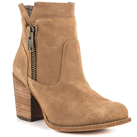 Billie - Taupe Suede by Mas Artisan