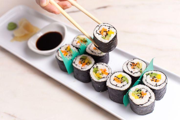 Use this recipe to make Cauliflower Rice Sushi.
