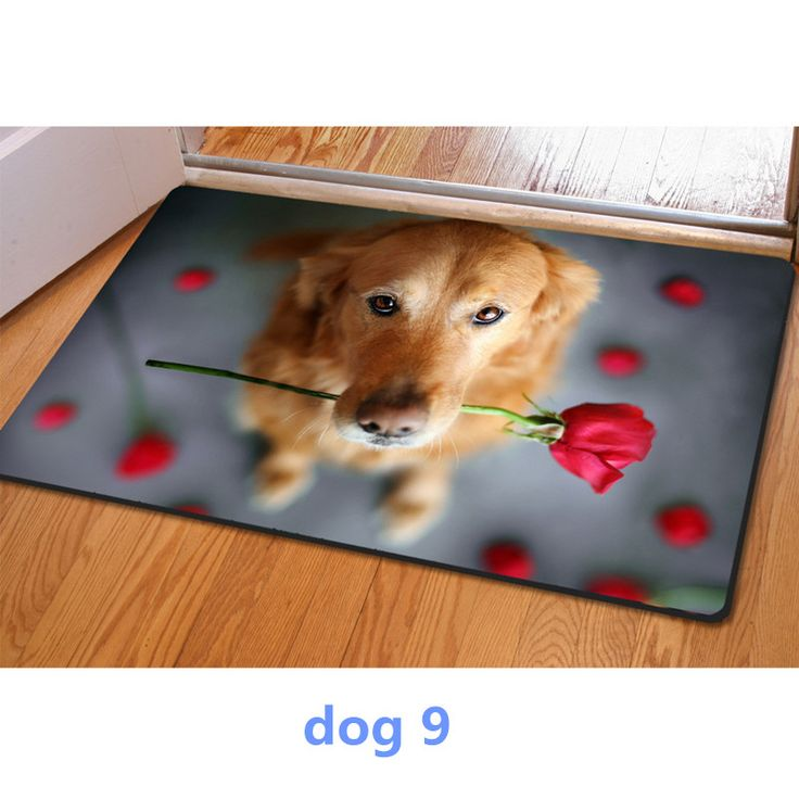 Entrance doormat 3D cute pet dog printed Rubber Mat 3D ainmal Carpet For Bedroom Kitchen door 40*60cm felt rug home decor modern // FREE Shipping //     Buy one here---> https://thepetscastle.com/entrance-doormat-3d-cute-pet-dog-printed-rubber-mat-3d-ainmal-carpet-for-bedroom-kitchen-door-4060cm-felt-rug-home-decor-modern/    #dog #dog #puppy #pet #pets #dogsitting #ilovemydog #lovedogs #lovepuppies #hound #adorable #doglover