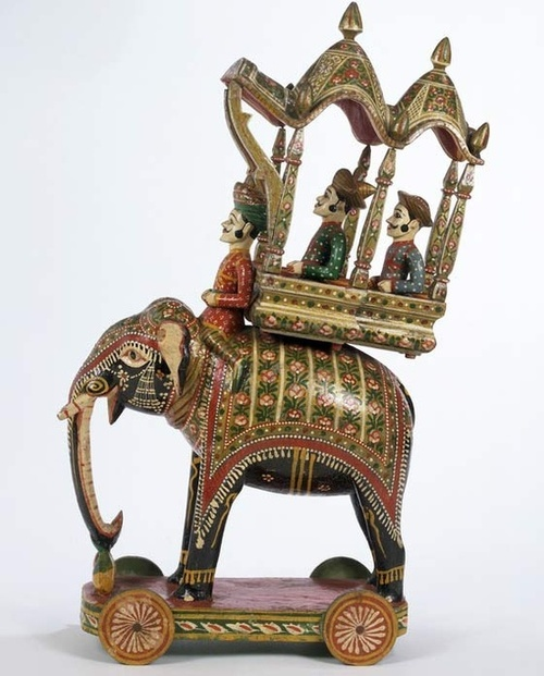 Rajahstan, India - vintage toy from V&A collection