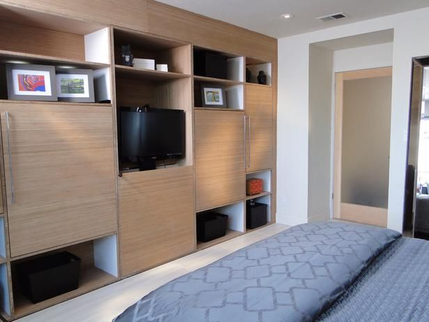 from chaotic master bedroom to sophisticated retreat giant bamboocloset systemdiy networkwall - Bedroom Wall Closet Systems