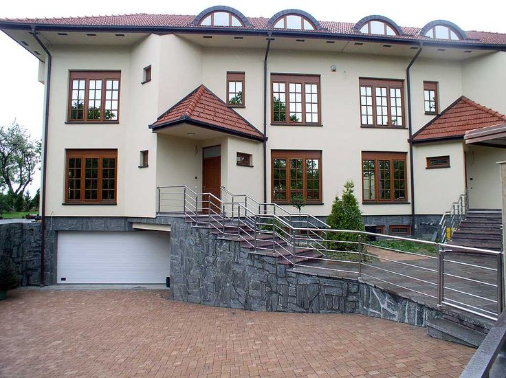Concrete pavers - Garden design ideas - Design by Mirko Stijaković - www.kotaci.com - Betonsteine - pavés en béton - pavimentazione in calcestruzzo con garage - adoquines de concreto - Бетоноукладчики - コンクリート舗装