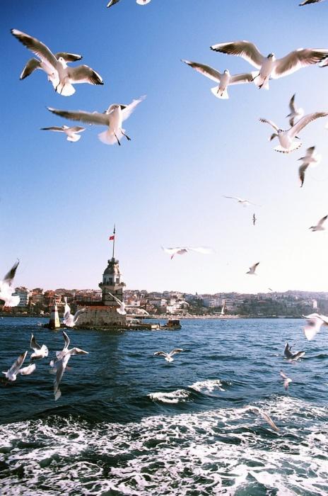 İstanbul, Turkey - Kız kulesi.