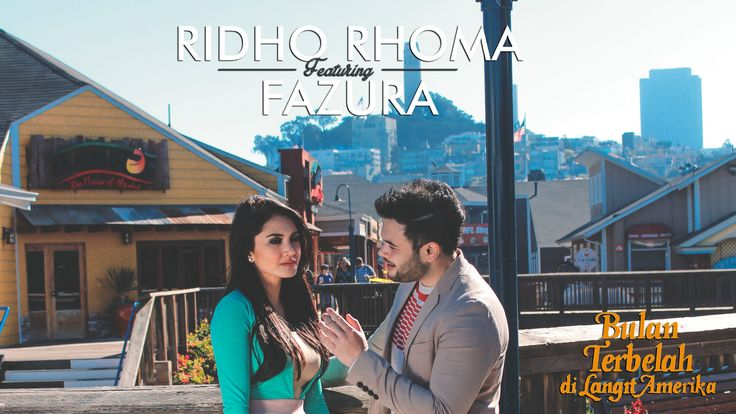 "Ridho Rhoma feat Fazura ""Bulan Terbelah di Langit Amerika"" | Original So..."