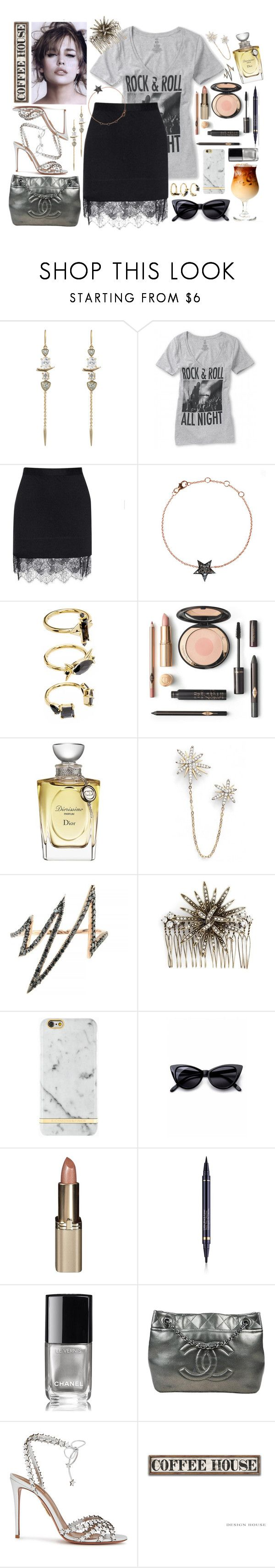 """""""The Heat - The Score"""" by leo8august ❤ liked on Polyvore featuring Alexis Bittar, Carven, Diamond Star, Noir Jewelry, Christian Dior, Nadri, Talia Naomi, Berry, Richmond & Finch and Retrò"""