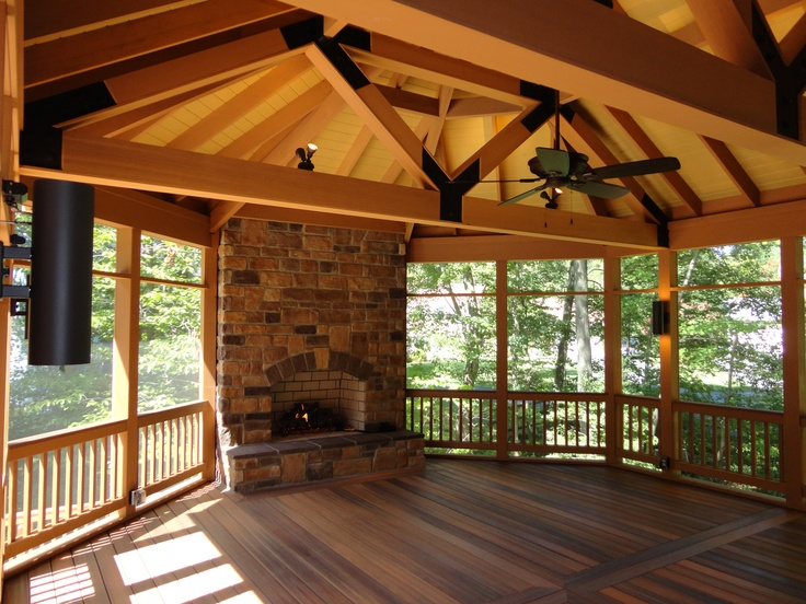 48 Best Screened Porch Images On Pinterest Porch Ideas