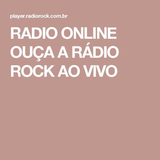 RADIO ONLINE OUÇA A RÁDIO ROCK AO VIVO