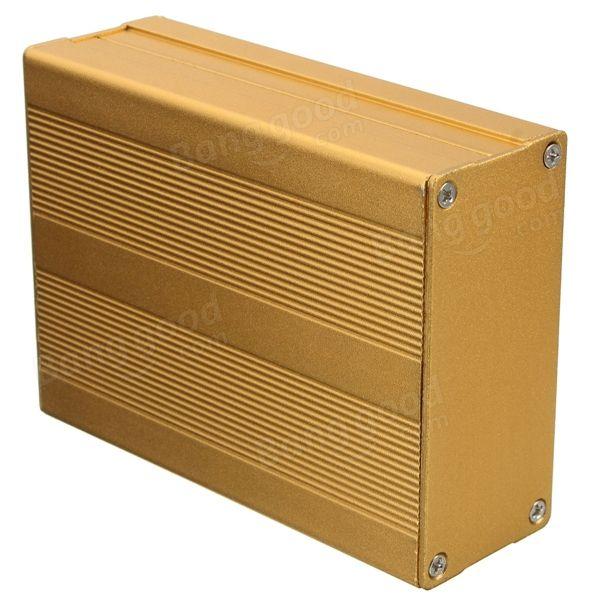 Caso recinzione box del circuito progetto pcb alluminio strumento elettronico 100x76x35mm diy Vendita - Banggood.com