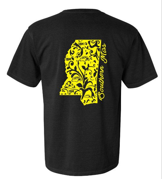 9cc3adfa Southern Miss USM Gameday shirt Glitter or regular by Momonherown |  Silhouette Projects | Game day shirts, Mens tops, Shirts