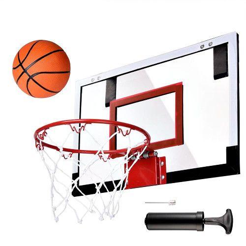 Basketball Hanging Hoop Indoor Outdoor Kids Game Wall Mounted Basketball Net  #SmartDealsMarket