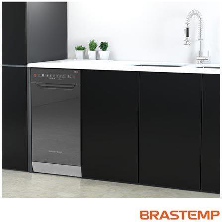 Imagem para Lava-Louças com 10 Serviços Brastemp com Painel Digital Touch Espelhada - BLF10 a partir de Fast Shop