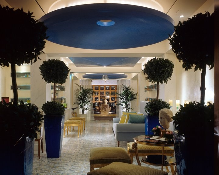 Grande Bretagne hotel - Athens  Spa  entrance