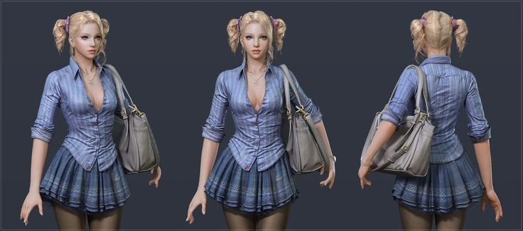 BLONDE(Realtime character) addl pics Pg 6