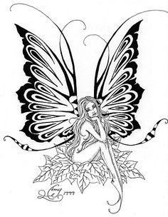 Amy Brown Free Coloring Pages