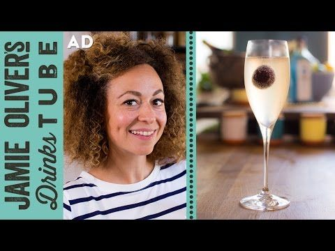 French 75 Gin & Champagne Cocktail | Shev - YouTube