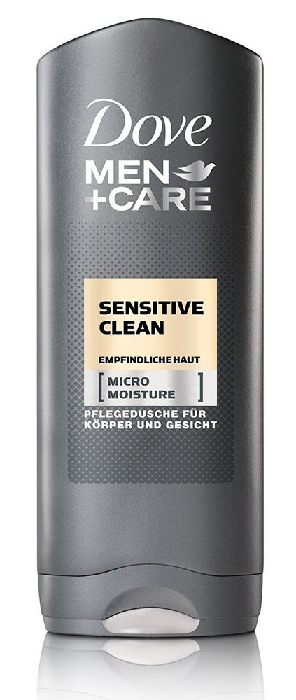 lot 3 gels douche dove men care sensitive clean 250ml neuf