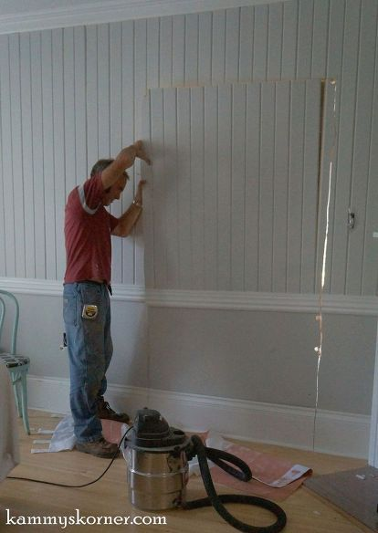 cut a pass through window in your wall with less mess, diy, home improvement, kitchen design