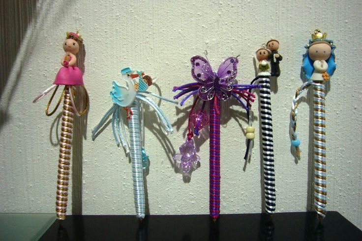 plumas decoradas