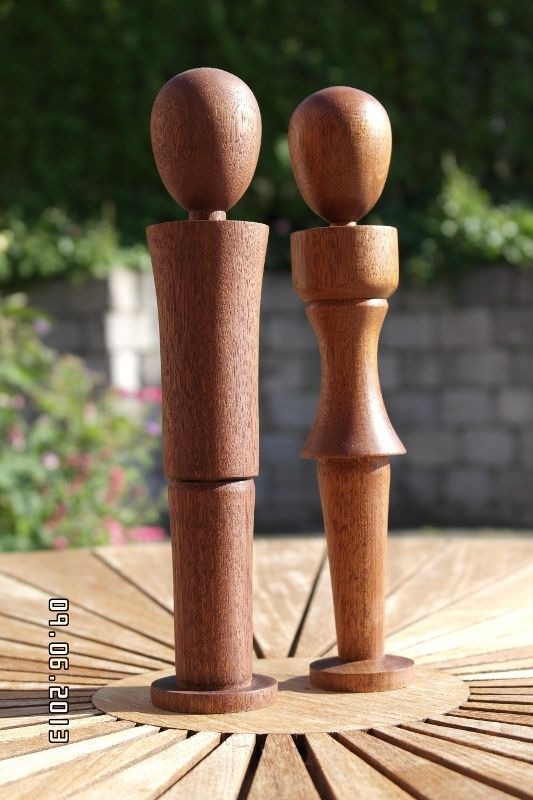 Par i mahogni