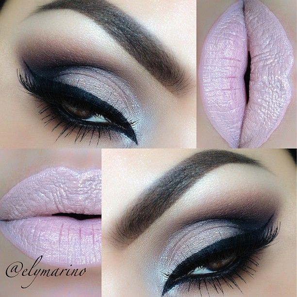 Modern Glam look today with Feline liner