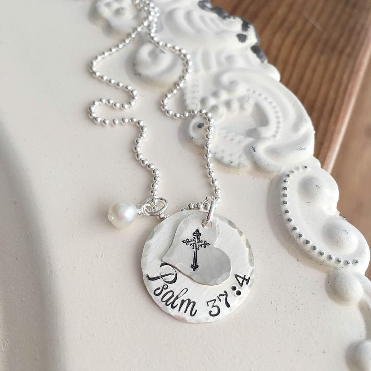 Personalized jewelry for Easter.  Come see the huge variety of faith-based jewelry at Shay Designs.