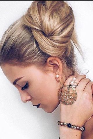 Cool 1000 Images About Braids Top Knots Updos Fun Buns Ponytails Hairstyles For Men Maxibearus