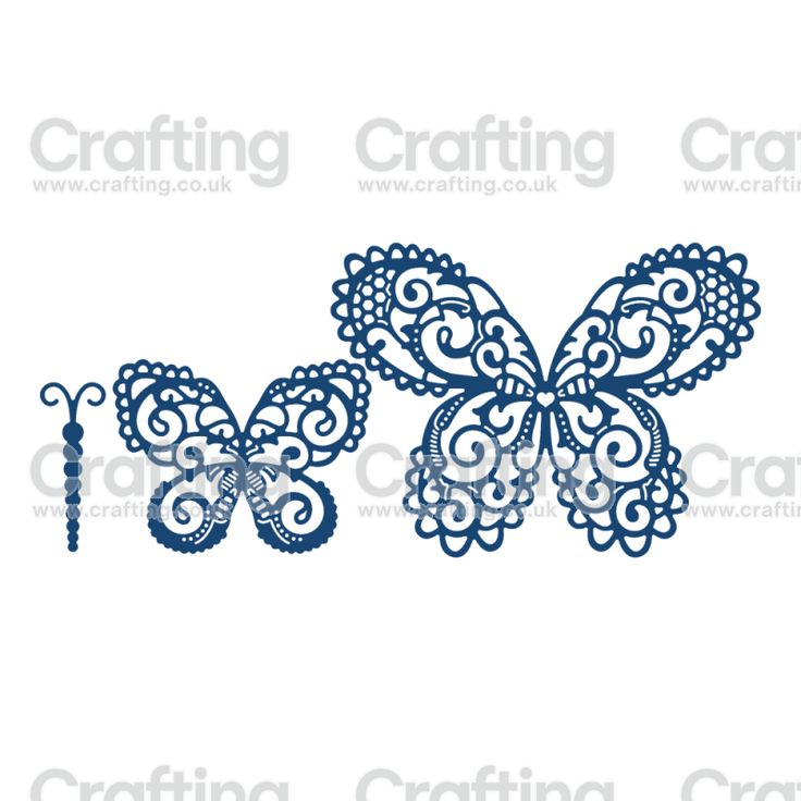 Tattered Lace Dies - Build a Butterfly Magnificent