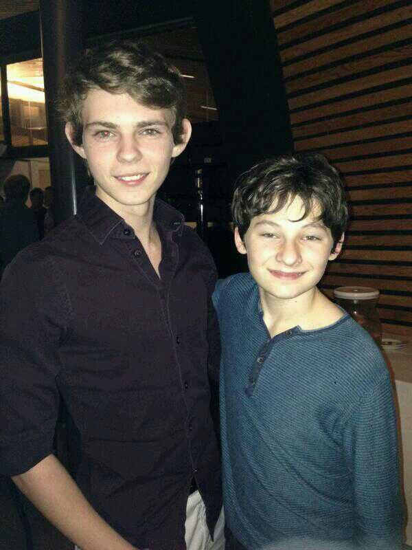 Ha picks time!!!! // Robbie Kay and Jared Gilmore