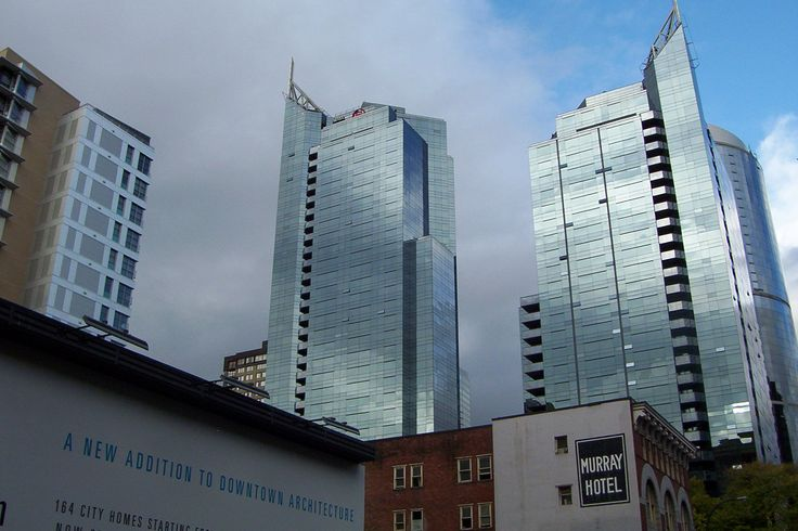 A look at a couple of the new buildings that are changing the familiar Vancouver skyline these days. They go up so fast, its hard to keep track of them all.