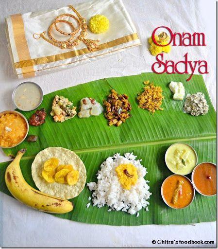 Kerala Onam sadya recipes - Festival recipes !