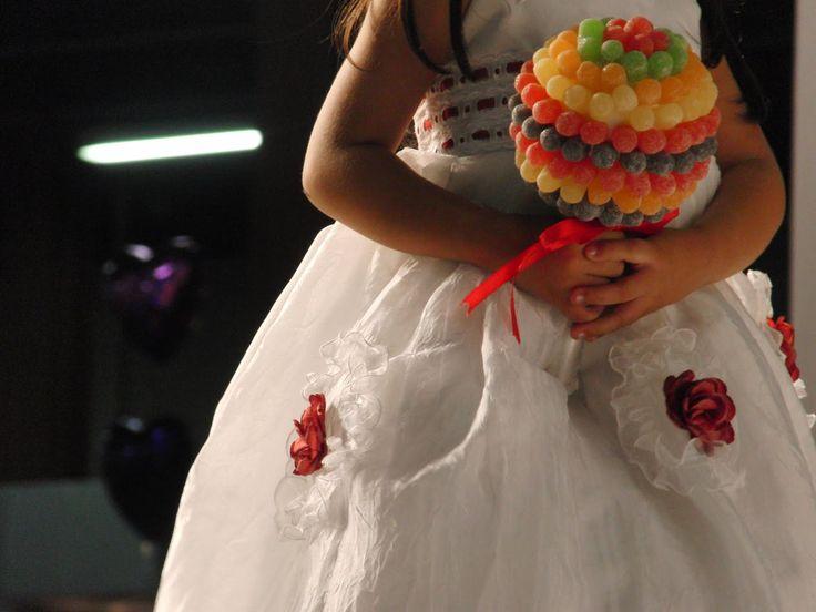 : Bouquets das daminhas.#Jujubas