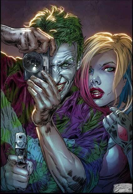 The Joker. Harley Quinn. Mad Love.