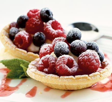 Lemon cheesecake tartlets - recipe