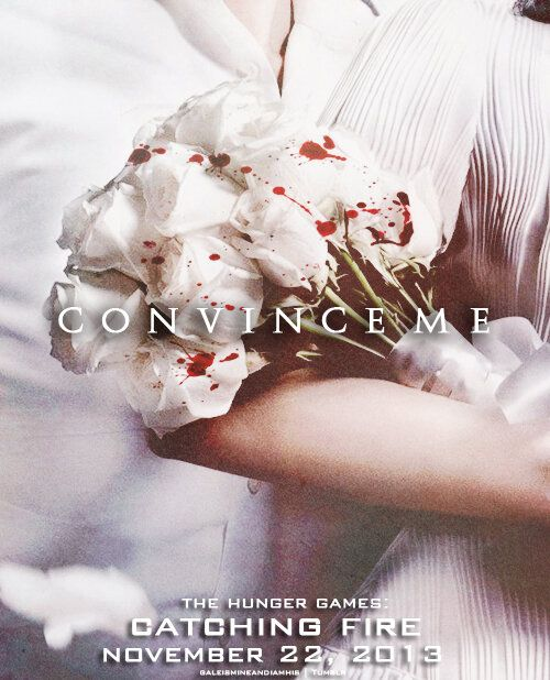 """Love this fanart tweak of """"bridal bouquet"""" in the new Victory Tour poster for Catching Fire"""
