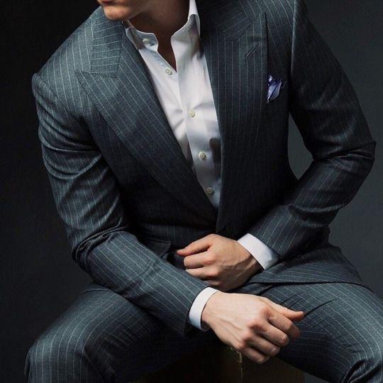 Best 25  Grey pinstripe suit ideas on Pinterest | Grey smart day ...