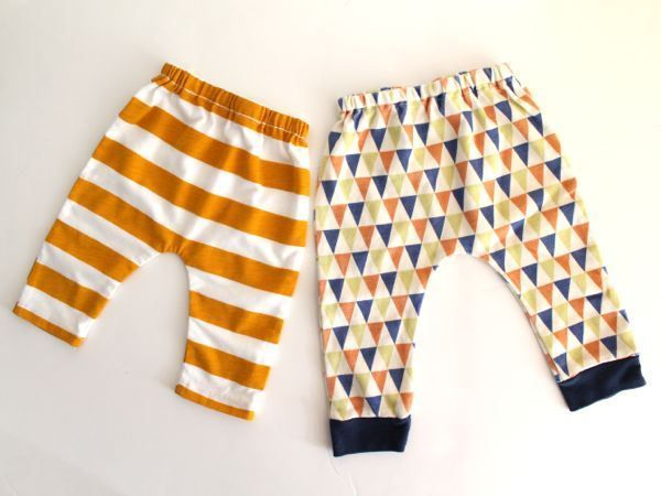 Sewing for baby: knit baby leggings - Made By Rae