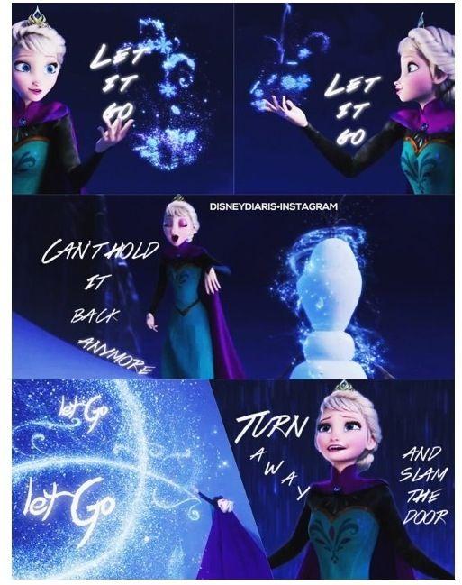Frozen Elsa Let It Go Pinterest
