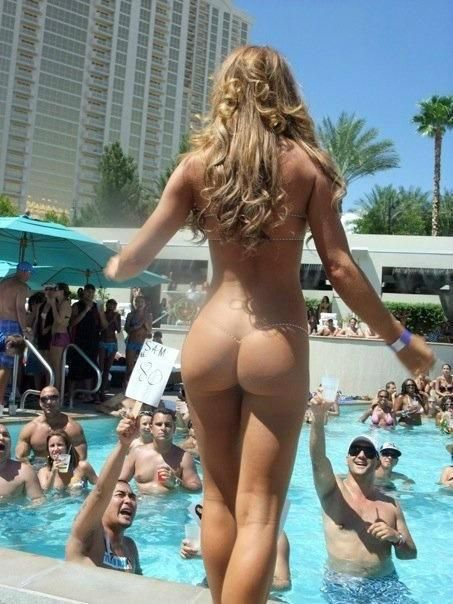 Erotic pool parties so?