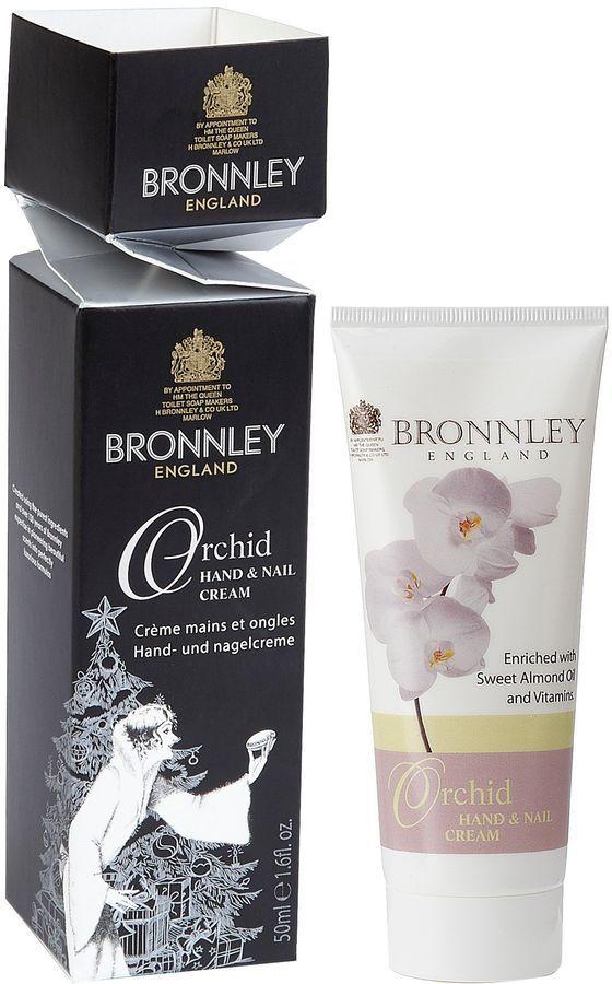 Bronnley Orchid Hand & Nail Cream Cracker