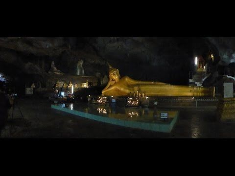 """Khao Lak - Thailand: Diashow  """"Wat Suwan Kuha Tempel"""" Affentempel, Khao..."""