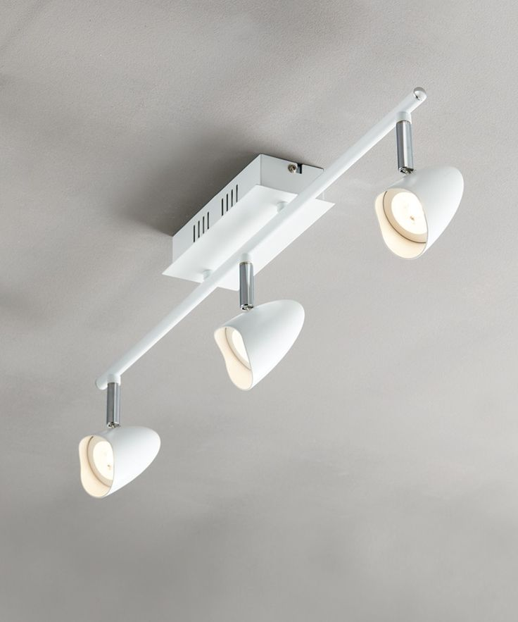 LEDlux Alsace Dimmable 3 Light Spotlight in White
