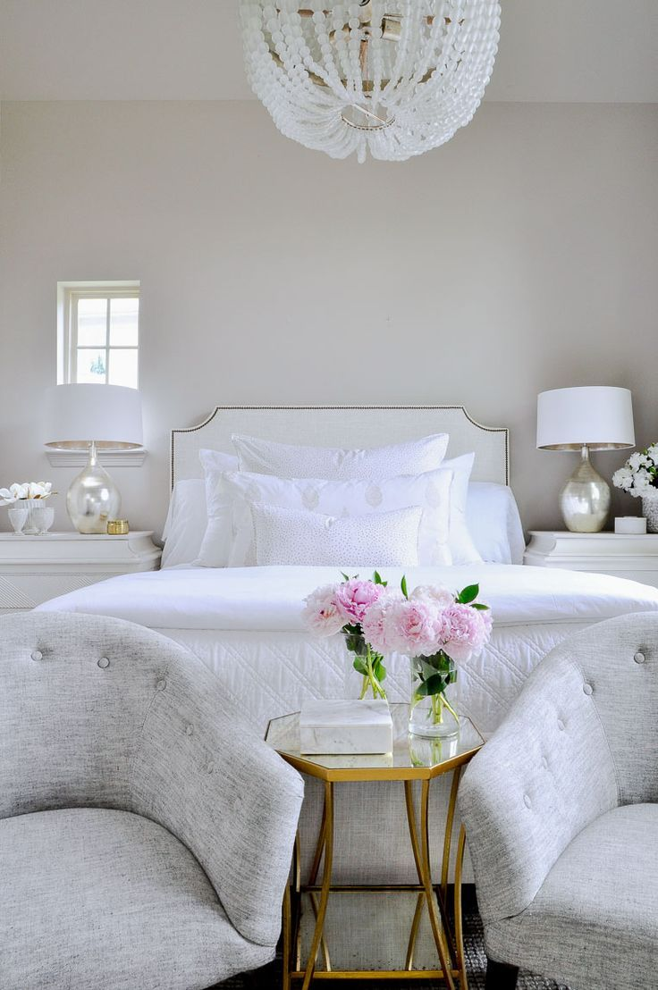 Beautiful Bright White Bedroom