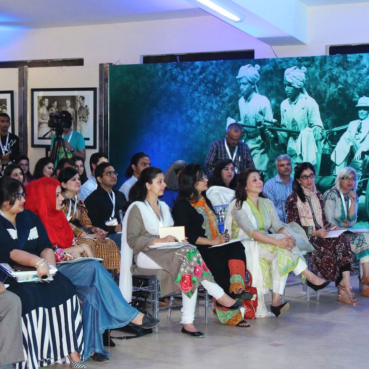Participants at one of the sessions.