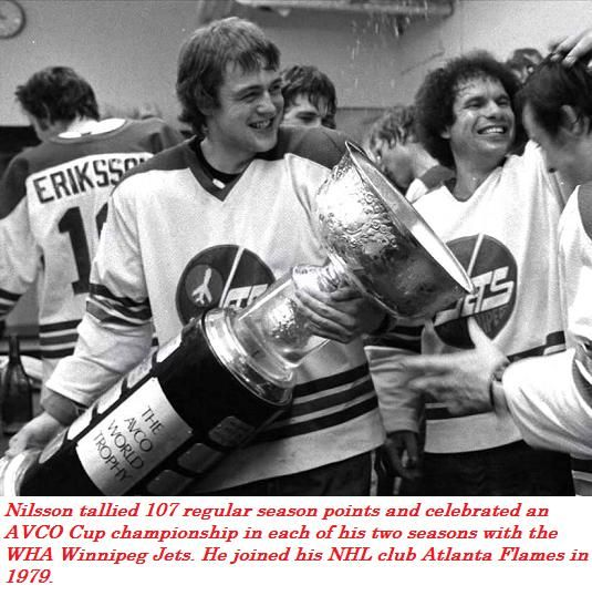 Kent Nilsson with the 1979 Avco Cup