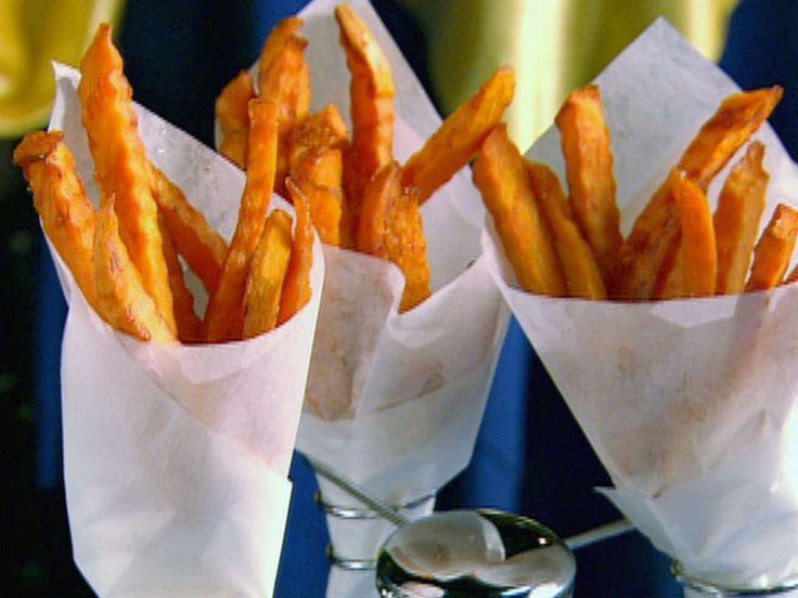 Baked Sweet Potato Fries recipe from Paula Deen via Food Network