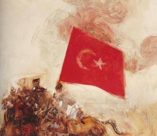 Türkiye resminden bayraklar - Avni Arbaş Kuvayi Milliye